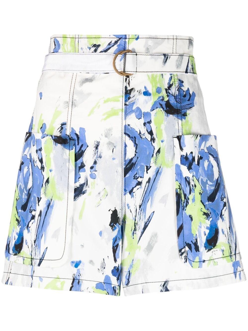Shorts con cintura regolabile, con fibbia ad anello PHILOSOPHY di LORENZO SERAFINI   Shorts   A030421411297