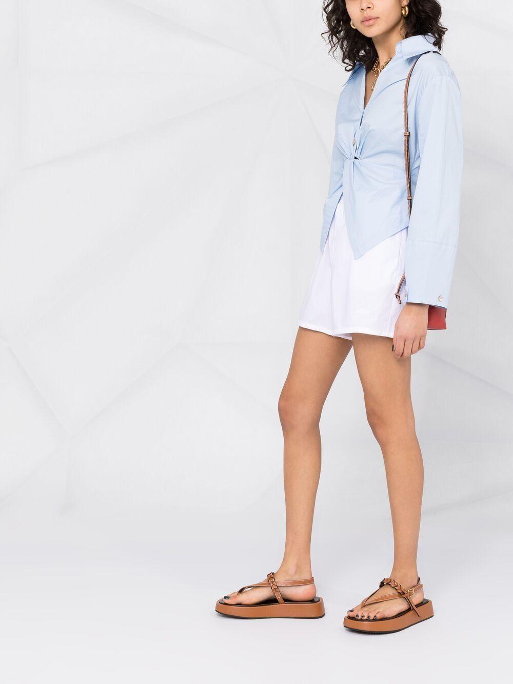 Shorts con vita elasticizzata PHILOSOPHY di LORENZO SERAFINI   Shorts   A031421200001