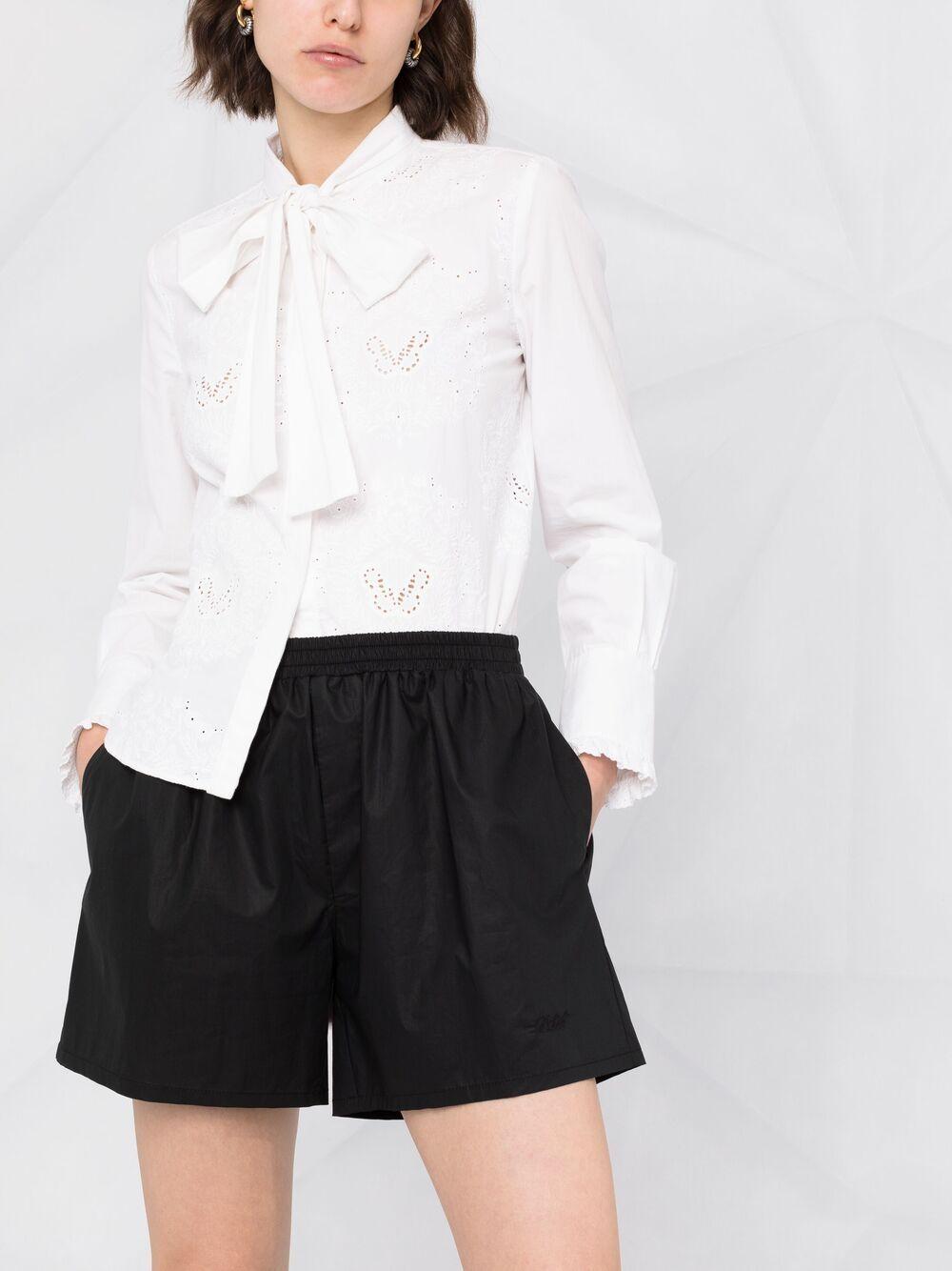 Shorts con vita elasticizzata PHILOSOPHY di LORENZO SERAFINI   Shorts   A031421200555