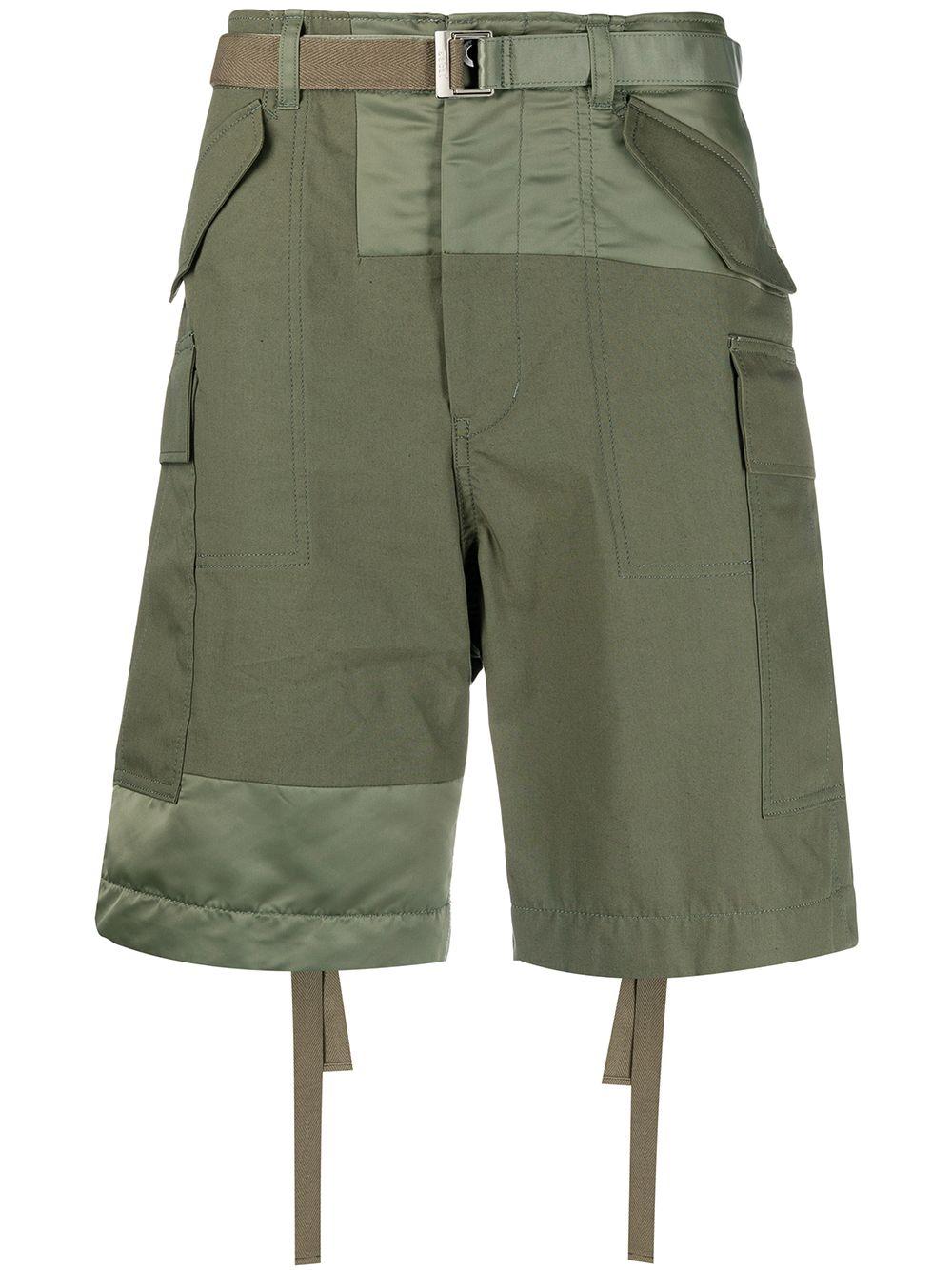 Pantalone corto con tasconi SACAI | Shorts | 21-02506M501