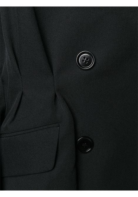 Giacca doppiopetto con cintura DRIES VAN NOTEN | Giacca | BERNA 8228BLACK