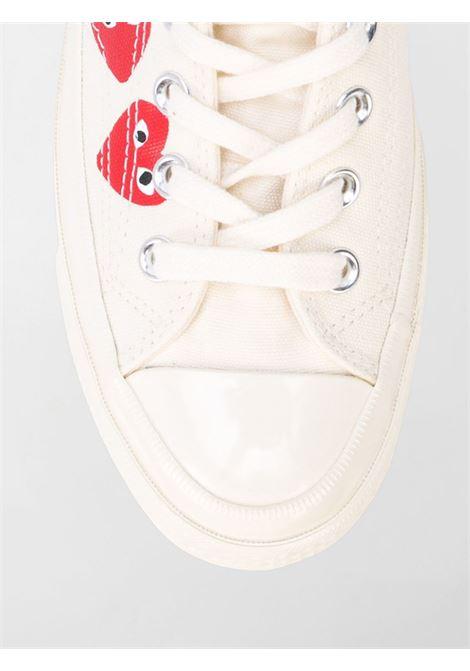 Sneakers a stivaletto con stampa cuoricini PLAY   Scarpe   AZ-K1162