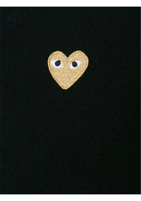 Pullover con applicazione cuore PLAY COMME DES GARCONS | Pullover | P1N0481