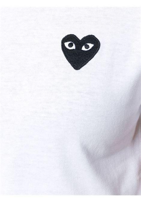 T-shirt con applicazione cuore PLAY COMME DES GARCONS | T-shirt | P1T0632
