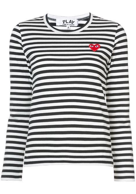 Maglia a righe PLAY COMME DES GARCONS | T-shirt | P1T1631