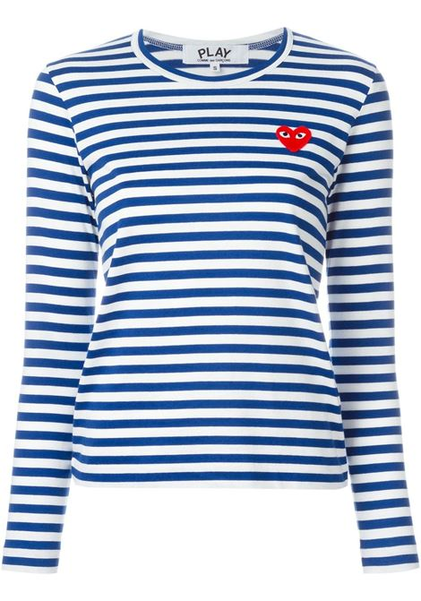 Maglia a righe PLAY COMME DES GARCONS | T-shirt | P1T1632