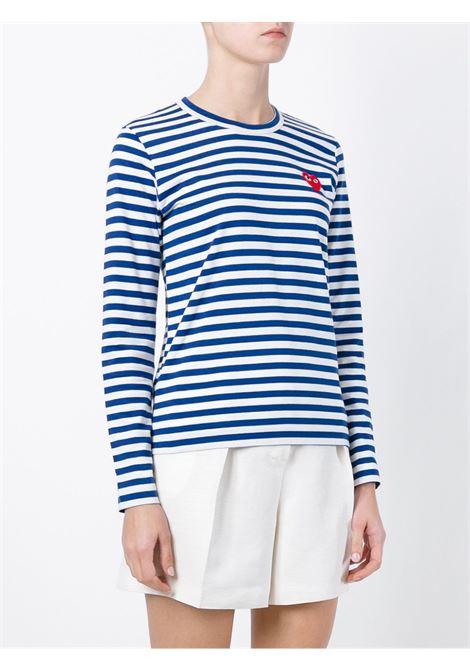 Maglia a righe PLAY COMME DES GARCONS   T-shirt   P1T1632