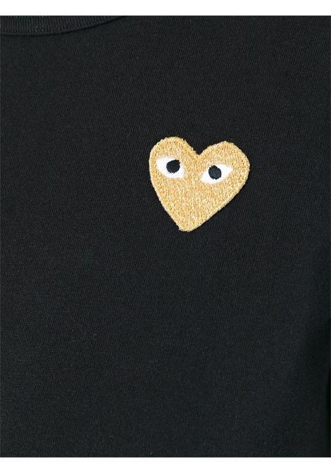 T-shirt con applicazione cuore PLAY COMME DES GARCONS | T-shirt | P1T2151