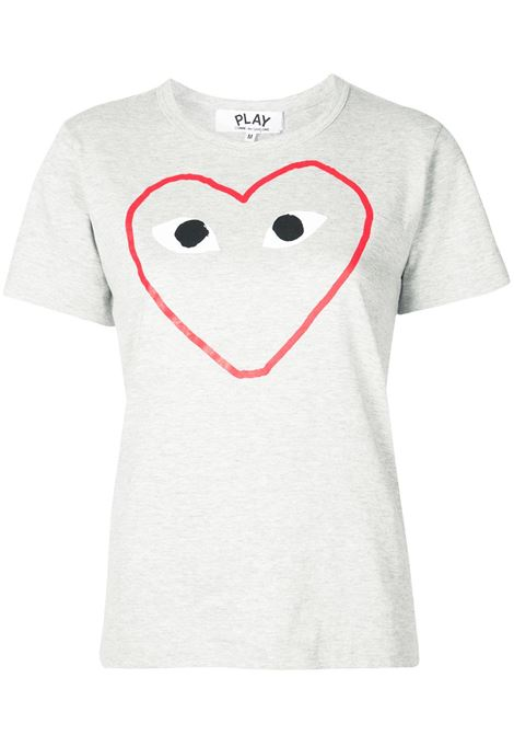 T-shirt con stampa cuore PLAY COMME DES GARCONS | T-shirt | P1T2651