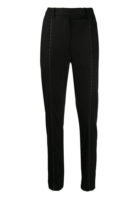 Pantaloni slim a vita alta ANN DEMEULEMEESTER | Pantalone | 2002-1428-189099