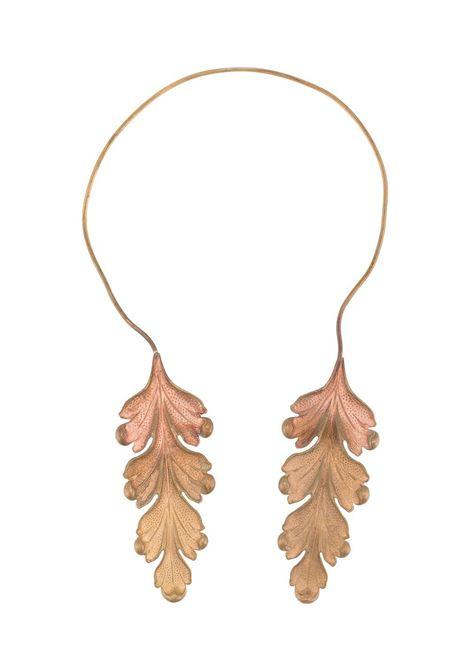 Collana con foglie ANN DEMEULEMEESTER | Collana | 2002-8836-411028