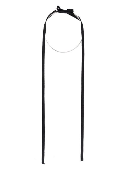 Collana con nastri ANN DEMEULEMEESTER | Collana | 2002-8880-411080