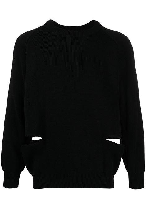 Maglione unisex girocollo BLACK COMME DES GARCONS | Pullover | 1F-N502-0521