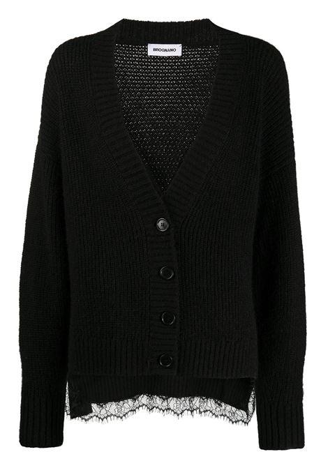 Cardigan con applicazioni in merletto BROGNANO | Cardigan | 29BR1M6020477099
