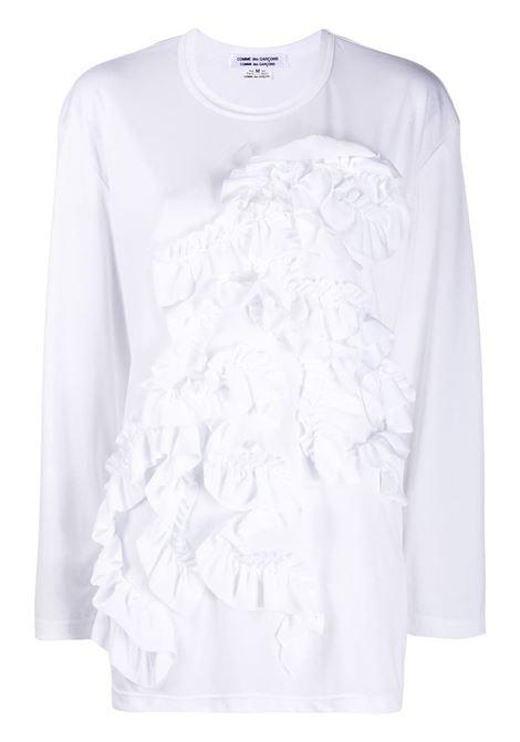 T-shirt con ruches COMME DES GARCONS COMME DES GARCONS | T-shirt | RF-T001-0512