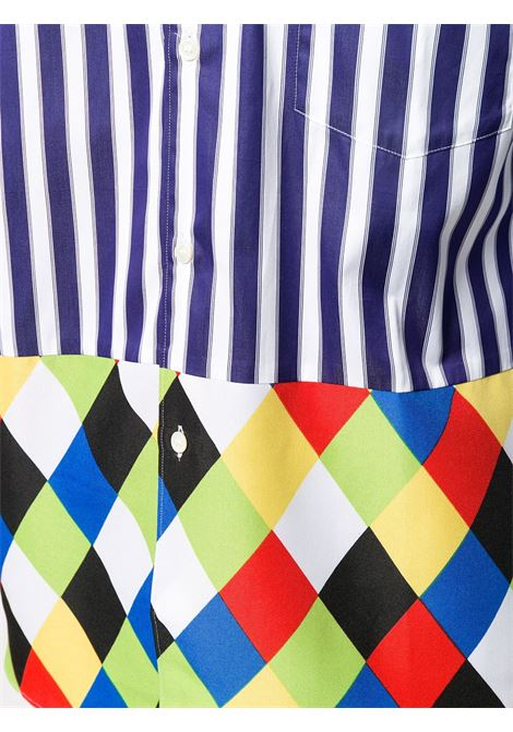 Camicia con due stampe diverse COMME DES GARCONS Homme Plus | Camicia | PF-B014-0511