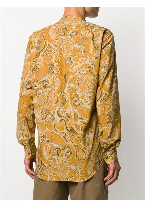 Camicia con stampa e colletto alla coreana DRIES VAN NOTEN | Camicia | CLAVER1001706