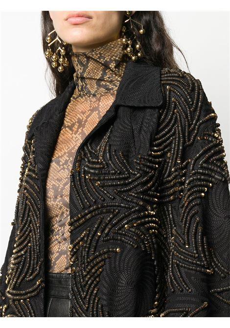 Cappotto con paillettes e ricami DRIES VAN NOTEN | Cappotto | RUBERTAEMB1427954
