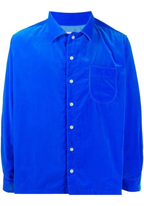 Camicia unisex in velluto liscio ERL | Camicia | ERL01B0021
