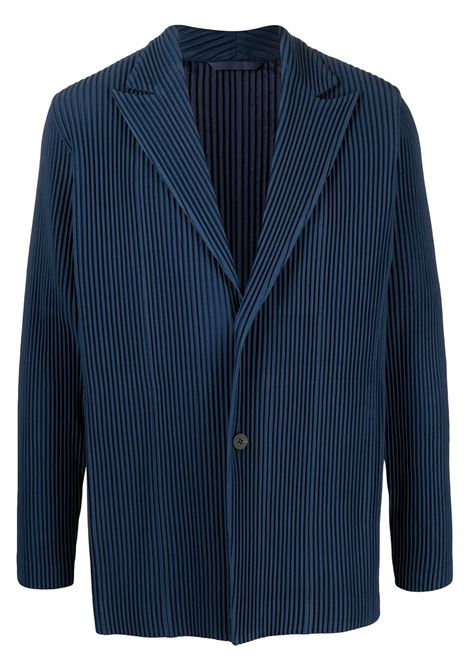 Giacca monopetto plissettata HOMME PLISSE | Giacca | HP08JD21375