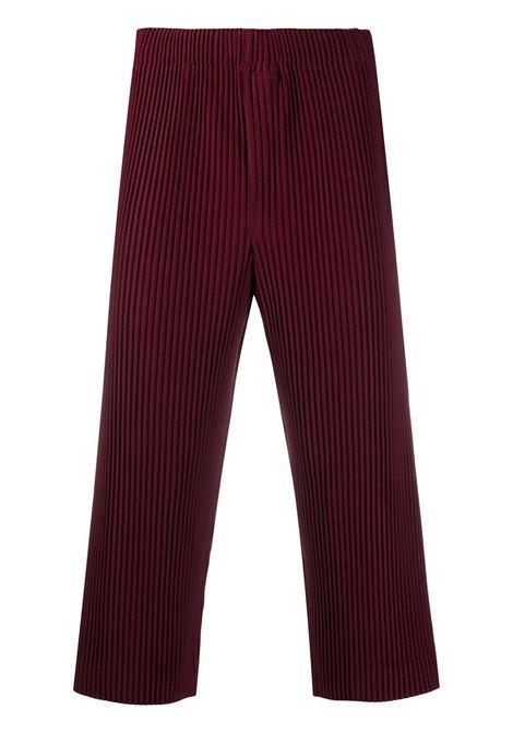 Pantaloni crop plissettati HOMME PLISSE | Pantalone | HP08JF14283