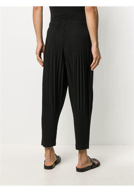 Pantaloni crop plissettati HOMME PLISSE | Pantalone | HP08JF15115
