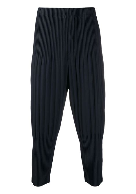 Pantaloni crop plissettati HOMME PLISSE | Pantalone | HP08JF15175