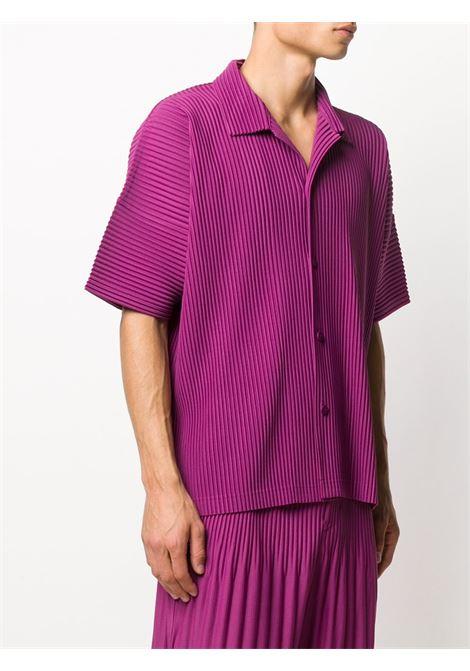 Camicia plissettata HOMME PLISSE | Camicia | HP08JJ10681