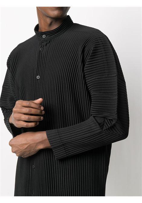 Camicia plissettata, oversize HOMME PLISSE | Camicia | HP08JJ11115