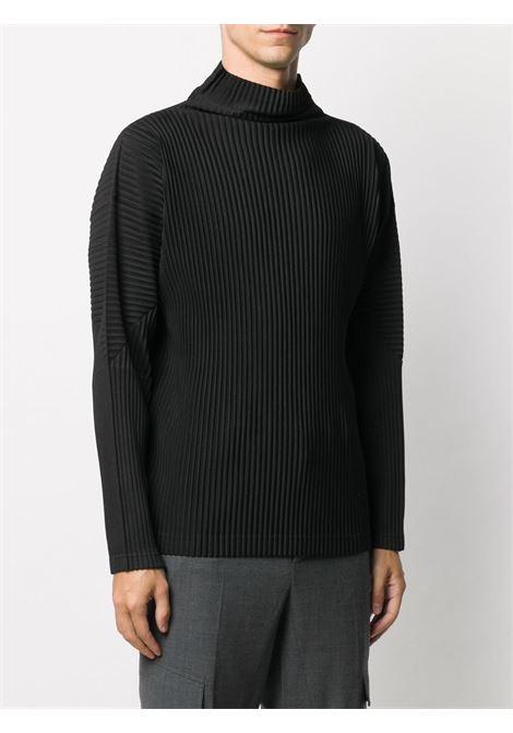 Maglia plissettata HOMME PLISSE | T-shirt | HP08JK12215