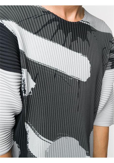 T-shirt plissettata HOMME PLISSE | T-shirt | HP08JK24587