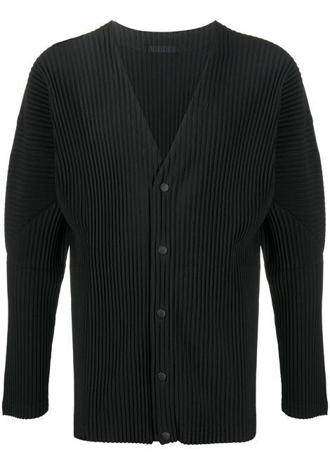 Cardigan plissettato HOMME PLISSE | Cardigan | HP08JL14115