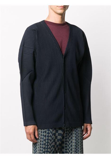 Cardigan plissettato HOMME PLISSE | Cardigan | HP08JL14175
