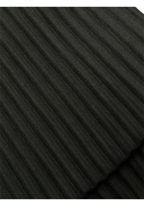 Sciarpa a costine con frange.  HOMME PLISSE | Sciarpa | HP09AD52215