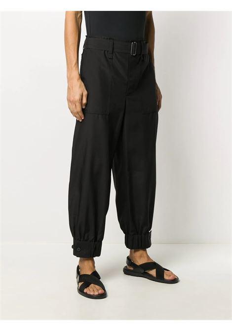 Pantaloni con vita e polsini elasticizzati ISSEY MIYAKE MEN | Pantalone | ME08FF11015