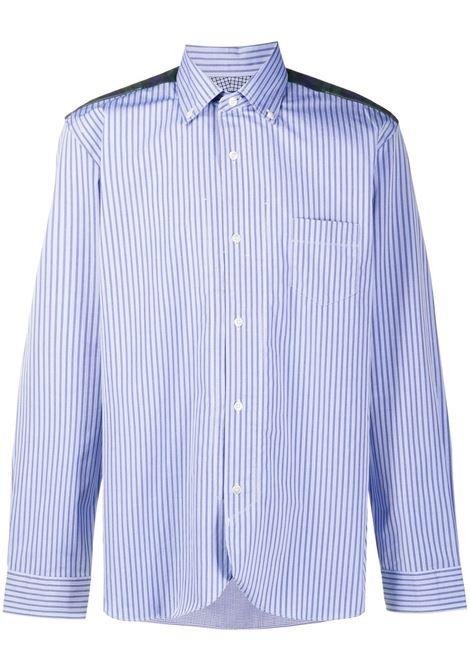 Camicia a righe con pannelli a contrasto JUNYA WATANABE MAN | Camicia | WF-B001-0511