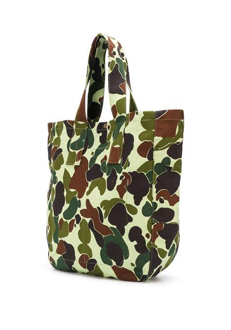 Borsa tote con stampa camouflage JUNYA WATANABE MAN | Borsa | WF-K295-1001