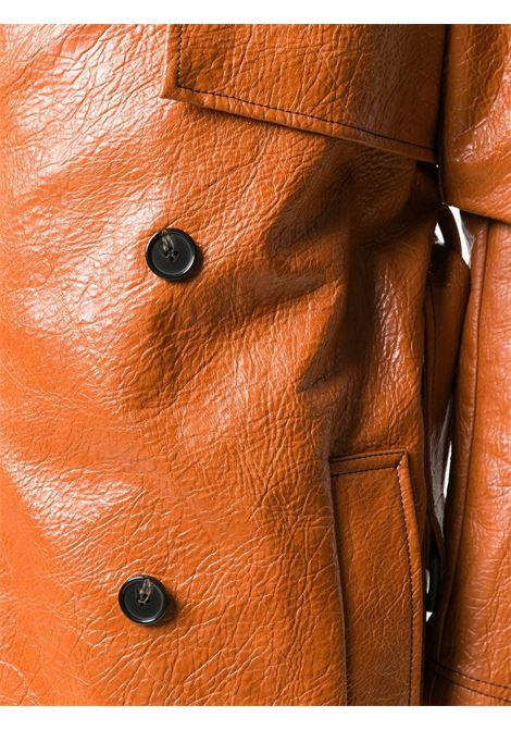 Cappotto doppiopetto in ecopelle MSGM | Cappotto | MDC0620767028