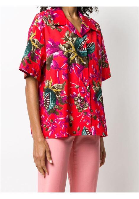 Camicia con stampa floreale MSGM | Camicia | MDE2420755118