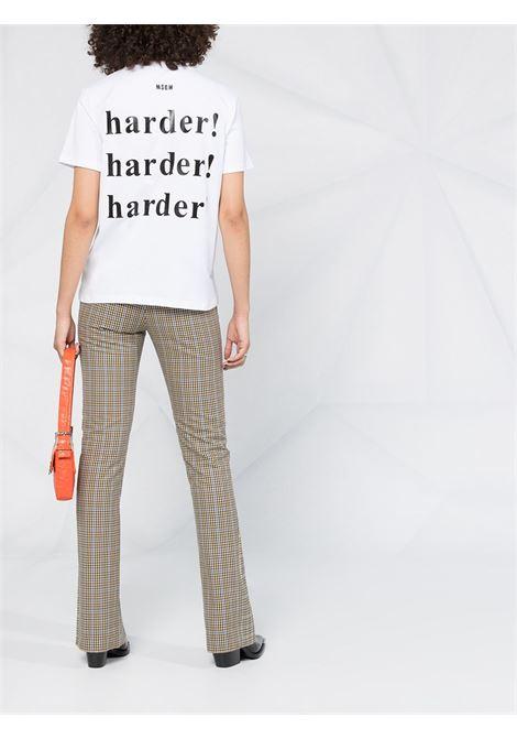 T-shirt con stampa MSGM | T-shirt | MDM17020779801