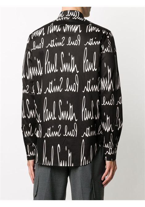 Camicia con stampa logo PAUL SMITH | Camicia | M1R-669T-E0141579