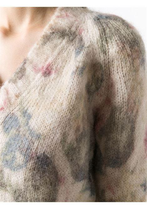 Maglione a fiori PHILOSOPHY di LORENZO SERAFINI | Maglia | A093957043002