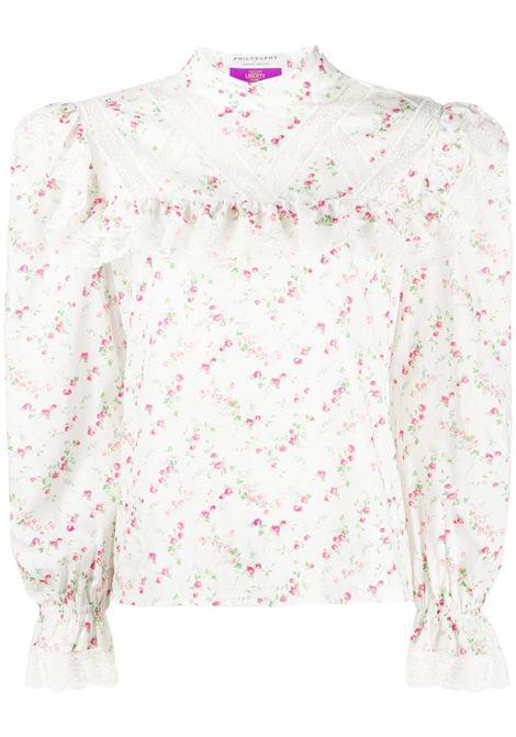 Blusa a fiori PHILOSOPHY di LORENZO SERAFINI   Camicia   J021257481002