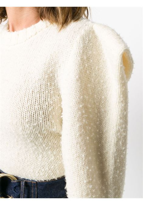 Maglione girocollo con ruches sulle spalle PHILOSOPHY di LORENZO SERAFINI | Maglia | V092471084