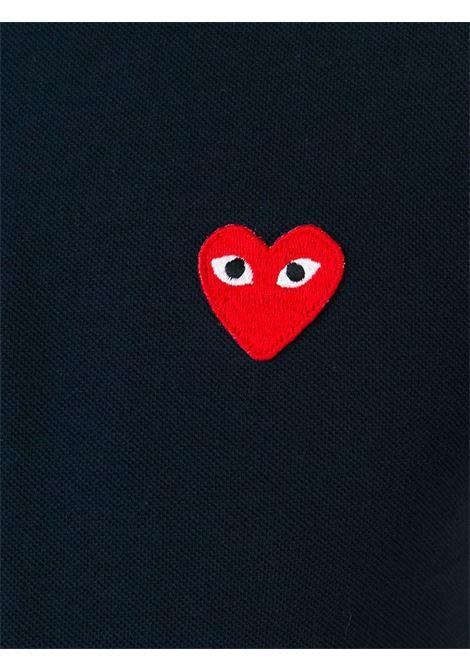 Polo con applicazione cuore PLAY COMME DES GARCONS | Polo | P1T0062