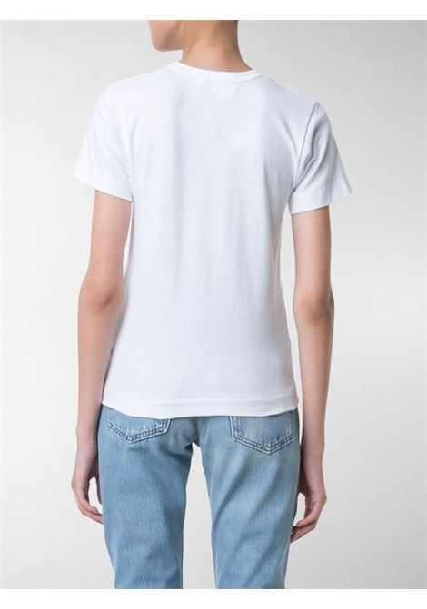 T-shirt con stampa e logo cuore PLAY COMME DES GARCONS | T-shirt | P1T0251