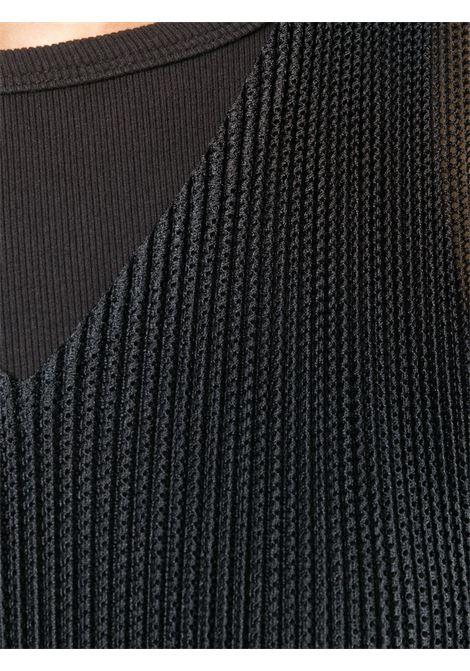 Canotta a rete plissettata PLEATS PLEASE | Canotta | PP08FK25115