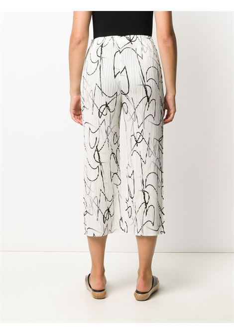 Pantaloni crop plissettati PLEATS PLEASE | Pantalone | PP08JF66301