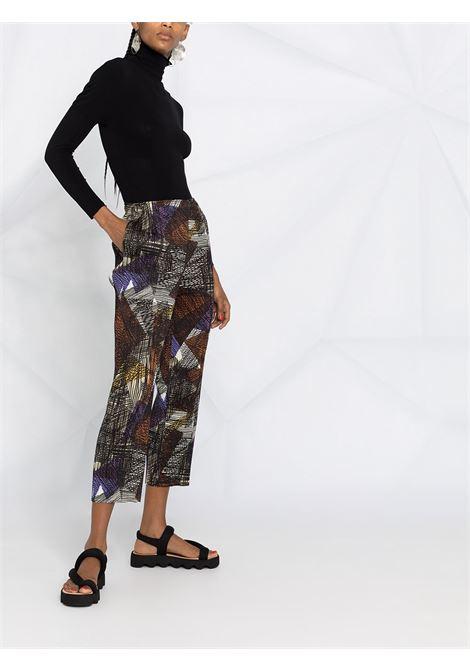 Pantaloni crop plissettati PLEATS PLEASE | Pantalone | PP08JF67338