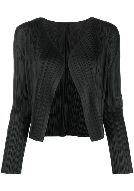 PLEATS PLEASE | Cardigan | PP08JO10615